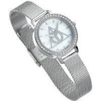 Harry Potter Silver Deathly Hallows Watch Embellished with Swarovski Crystals - Swarovski Gifts