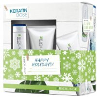 Biolage KeratinDose Haircare Gift Set Collection for Damaged Hair