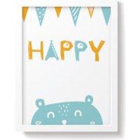 Snuz Happy Nursery Print - Blue