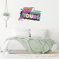 Always Young Wall Art Sticker