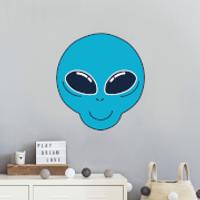 Alien Wall Art Sticker - Alien Gifts