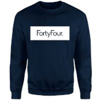 How Ridiculous Forty Four Banner Sweatshirt - Navy - L - Navy