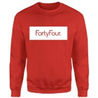 How Ridiculous Forty Four Banner Sweatshirt - Red - L - Red