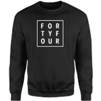 How Ridiculous Forty Four Square Sweatshirt - Black - L - Black