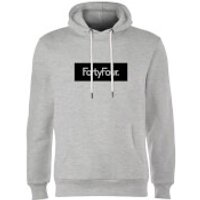 How Ridiculous Forty Four Banner Hoodie - Grey - XXL - Grey