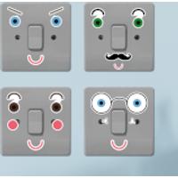 Fun Expressions Light Switch Art - Fun Gifts