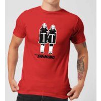 The Shining Twins Men's T-Shirt - Red - M - Red