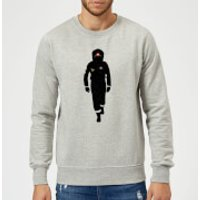 2001: A Space Odyssey Space In Suit Sweatshirt - Grey - XL - Grey