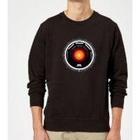 2001: A Space Odyssey Hal 9000 Stylised Eye Sweatshirt - Black - XXL - Black