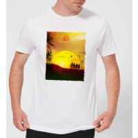 Full Metal Jacket Born To Kill Sunset Men's T-Shirt - White - XXL - White
