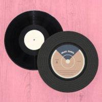 Music Junkie VInyl Record Player Slip Mat - Music Gifts