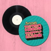 Summer Retro Party Record Player Slip Mat - Summer Gifts
