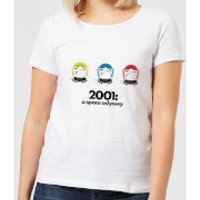 2001: A Space Odyssey Space Helmets Women's T-Shirt - White - M - White