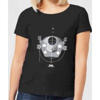 2001: A Space Odyssey EVA Pod Women's T-Shirt - Black - L - Black