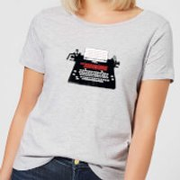 The Shining Typewriter Women's T-Shirt - Grey - XS - Grey