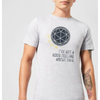 Crystal Maze I've Got A Good Feeling About This- Industrial Men's T-Shirt - Grey - S - Grey