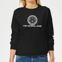 Crystal Maze Crystal Maze Logo Women's Sweatshirt - Black - S - Black