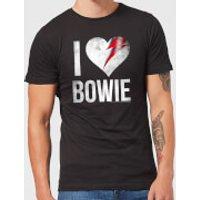 David Bowie I Love Bowie Men's T-Shirt - Black - S - Black
