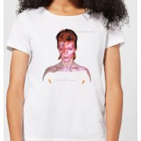 David Bowie Aladdin Sane Cover Women's T-Shirt - White - M - White