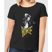 David Bowie Scream Women's T-Shirt - Black - XS - Black