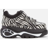 Buffalo Women's Classic Chunky Trainers - Zebra - UK 4