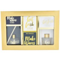 Make Waves and Get Fresh Candle and Diffuser Gift Set
