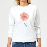 Flower 9 Women's Sweatshirt - White - XXL - White
