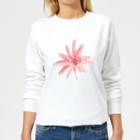 Flower 6 Women's Sweatshirt - White - M - White