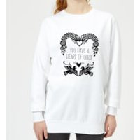 You Have A Heart Of Gold Women's Sweatshirt - White - S - White