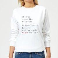 One Of The Rare Ones Women's Sweatshirt - White - XL - White