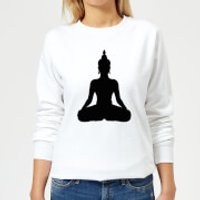 Buddha Women's Sweatshirt - White - XL - White