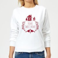 Home Sweet Home Women's Sweatshirt - White - XL - White