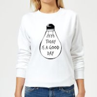 Today Is A Good Day Women's Sweatshirt - White - 3XL - White
