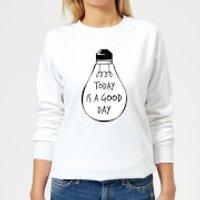 Today Is A Good Day Women's Sweatshirt - White - 3XL - White