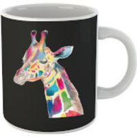 Multicolour Watercolour Giraffe Mug - Giraffe Gifts