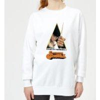 A Clockwork Orange A Clockwork Orange Poster (trim White) Women's Sweatshirt - White - XL - White