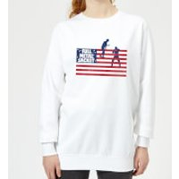 Full Metal Jacket American Stripes Womens Sweatshirt -