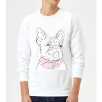 Frenchie Sweatshirt - White - M - White