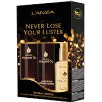 LAnza Keratin Healing Oil Holiday Trio (Worth £97.50)