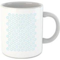 Cartoon Pansy Repeat Pattern Mug - Cartoon Gifts