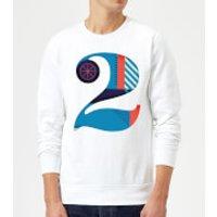 2 Sweatshirt - White - L - White