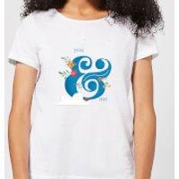 You & Me Women's T-Shirt - White - XL - White