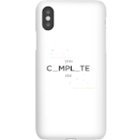 You Complete Me Phone Case for iPhone and Android - Samsung Note 8 - Snap Case - Matte