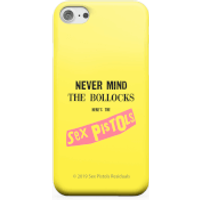 Never Mind The B*llocks Phone Case for iPhone and Android - iPhone 8 Plus - Tough Case - Matte