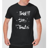 Trick Or Treat Spider Men's T-Shirt - Black - S - Black