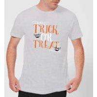 Trick Or Treat Men's T-Shirt - Grey - XXL - Grey