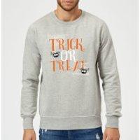 Trick Or Treat Sweatshirt - Grey - L - Grey