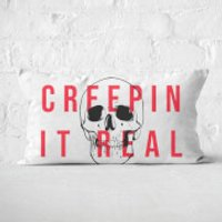 Creepin It Real Rectangular Cushion - 30x50cm - Eco Friendly - Eco Friendly Gifts
