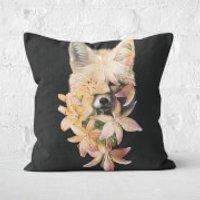 Foxy Flowers Cushion Square Cushion - 40x40cm - Soft Touch