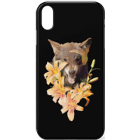 Wolfish Flowers Phone Case for iPhone and Android - Samsung S7 - Snap Case - Matte